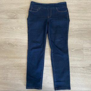 Charter Club Cambridge Slim Skinny Pull On Jeans